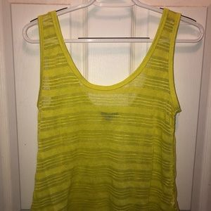 Cotton On Neon Yellow Top